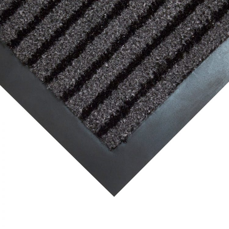 Duo Entrance Mat Style Black Charcoal