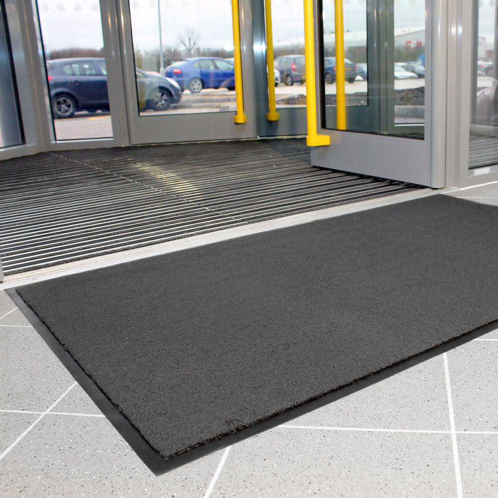 Entra Plush Entrance Mat Grey