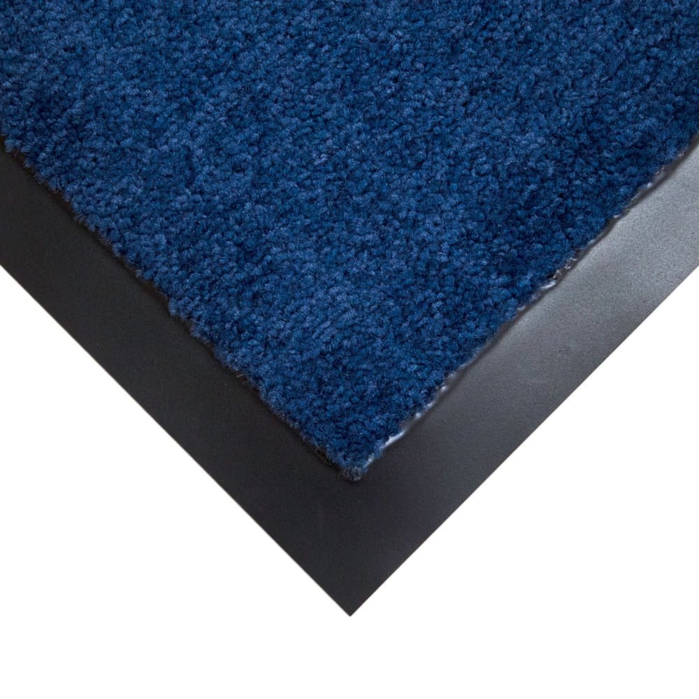 Entra Plush Entrance Mats Style Blue