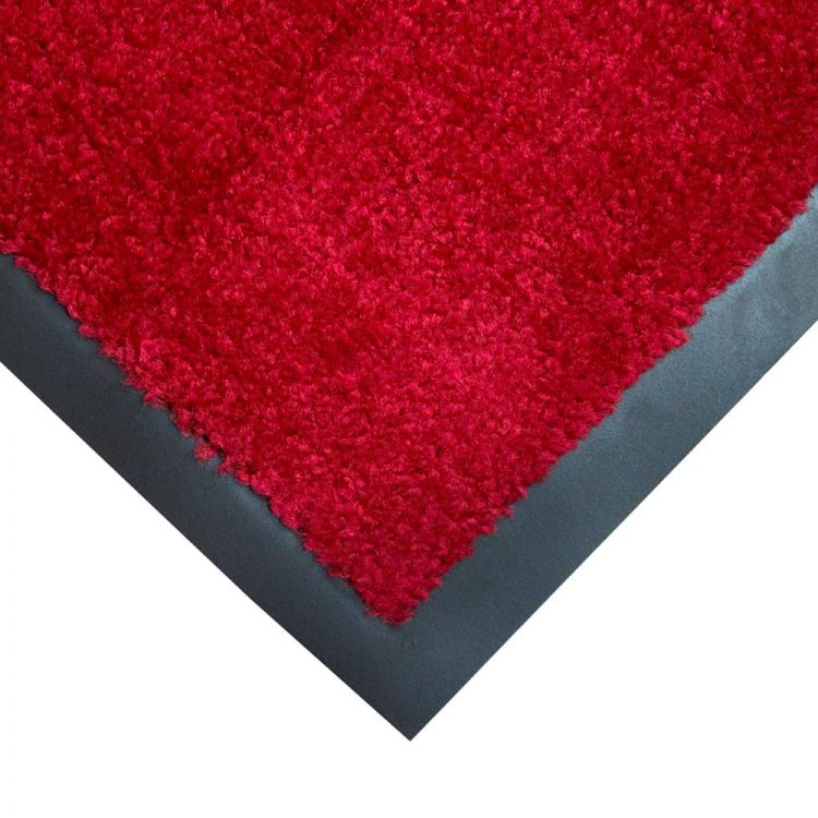 Entra Plush Entrance Mats Style Red