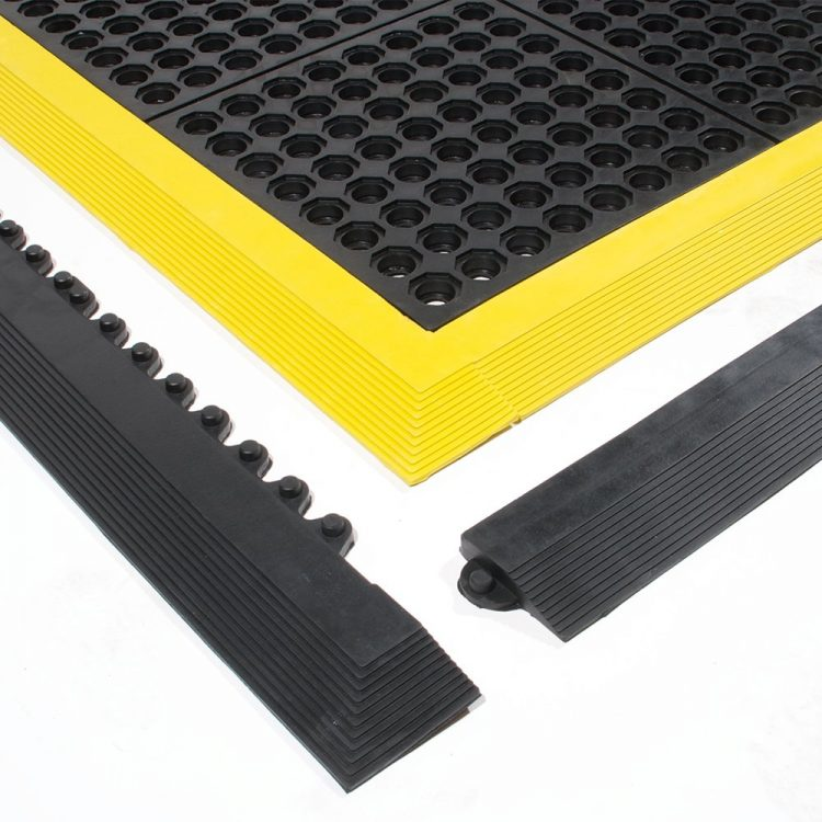 Fatigue Step Workplace Matting Style Edging
