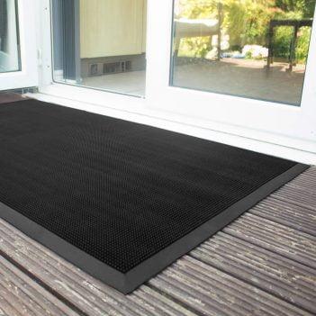 Fingertip Rubber Doormat