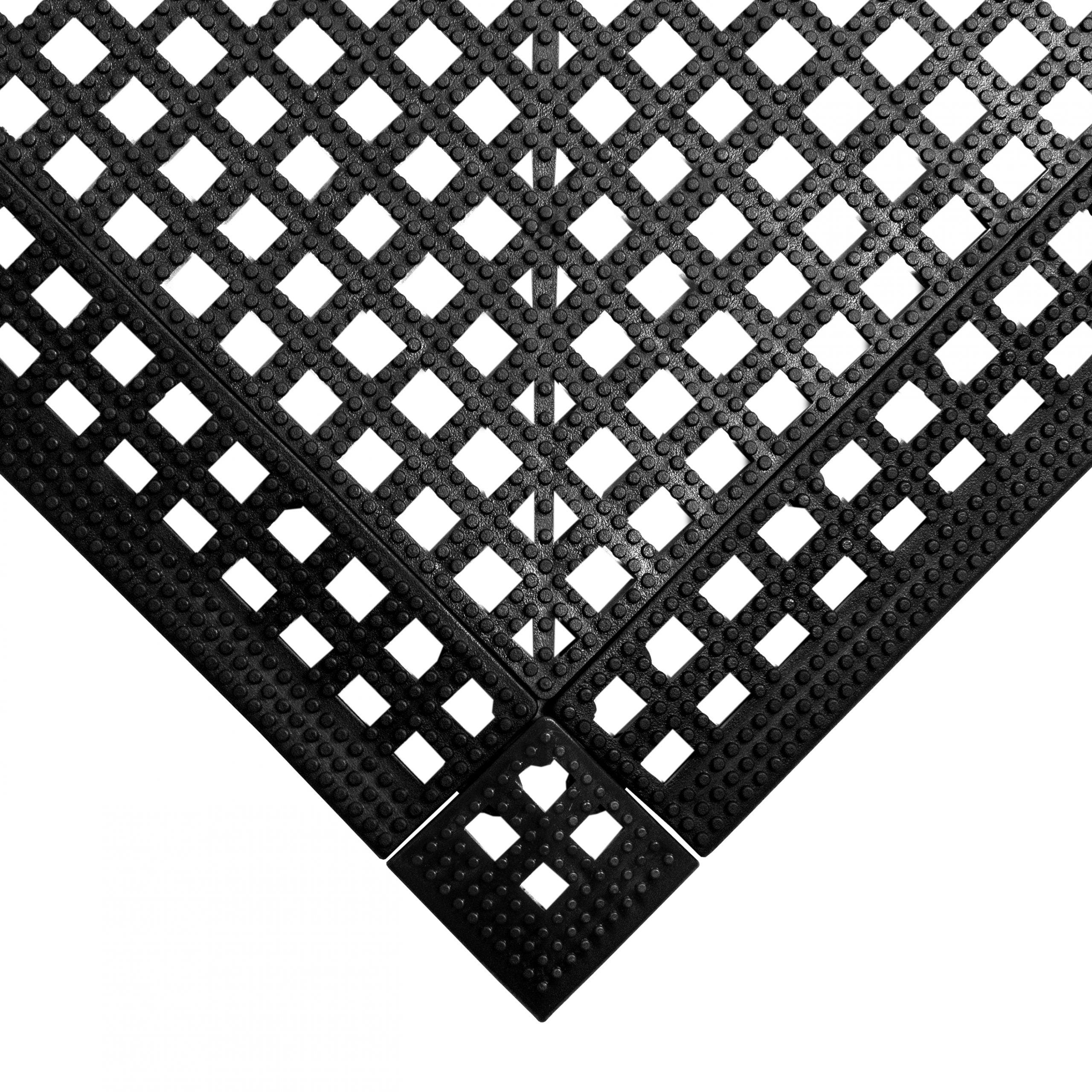 Flexi Deck Leisure Mat Style Black
