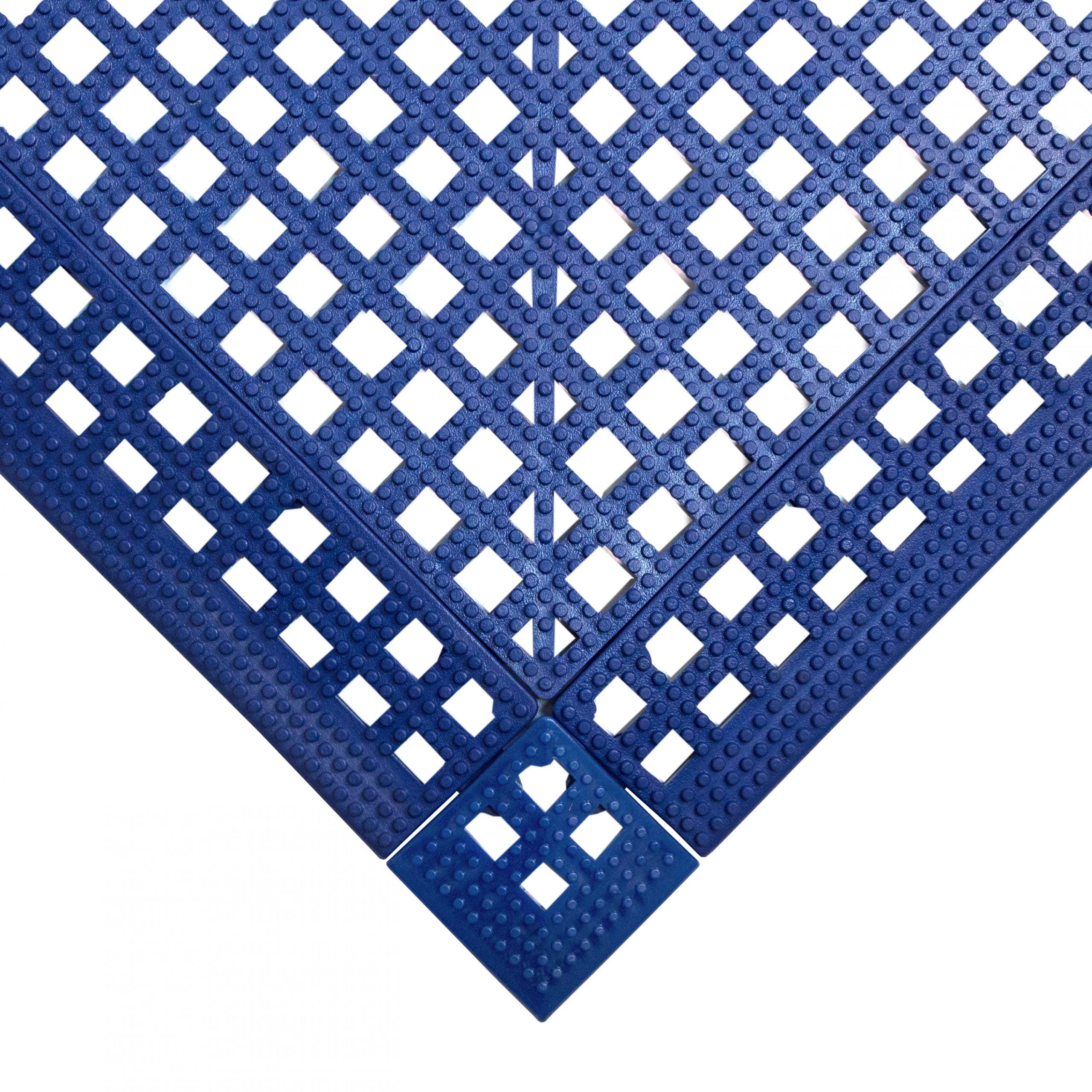Flexi Deck Leisure Mat Style Blue