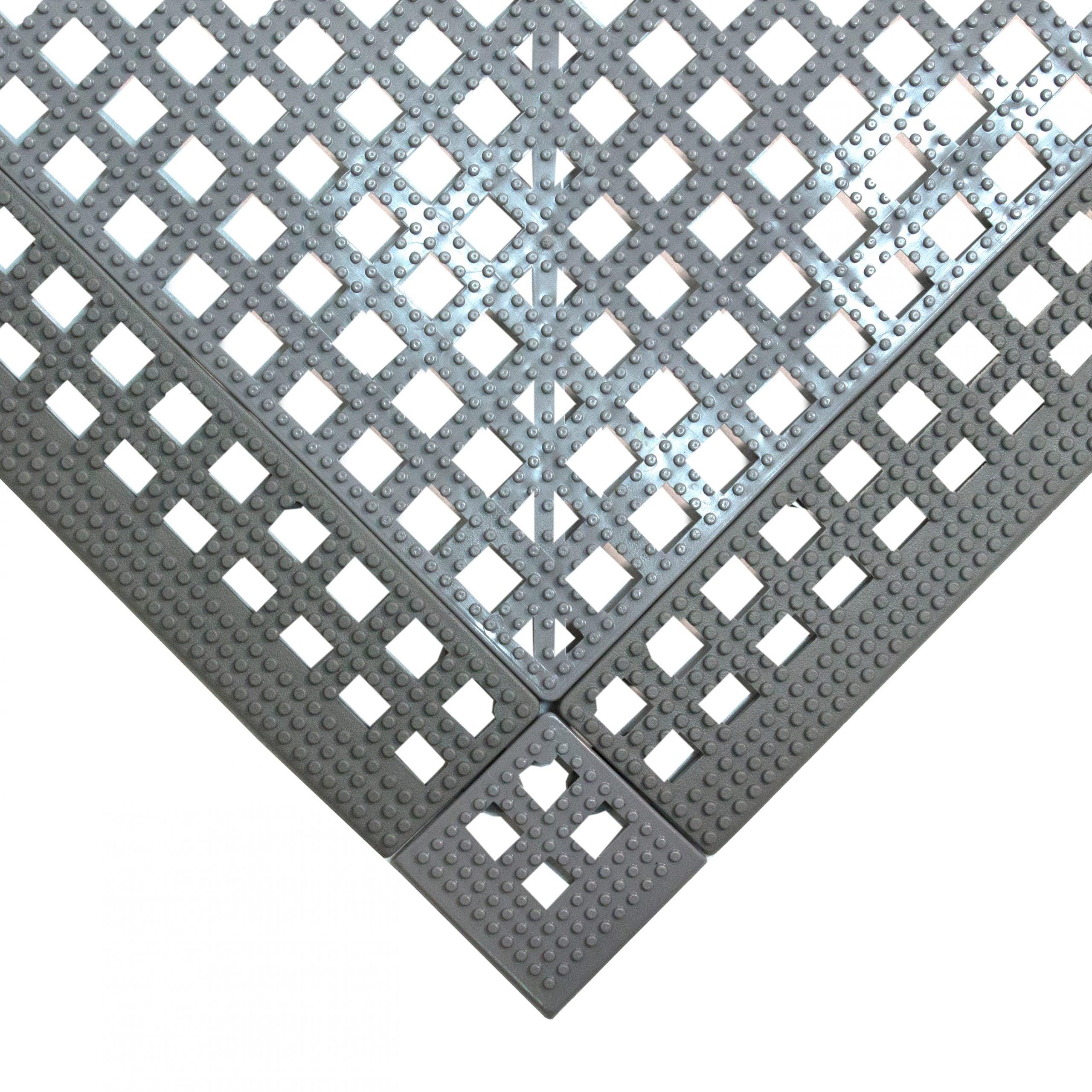 Flexi Deck Leisure Mat Style Grey