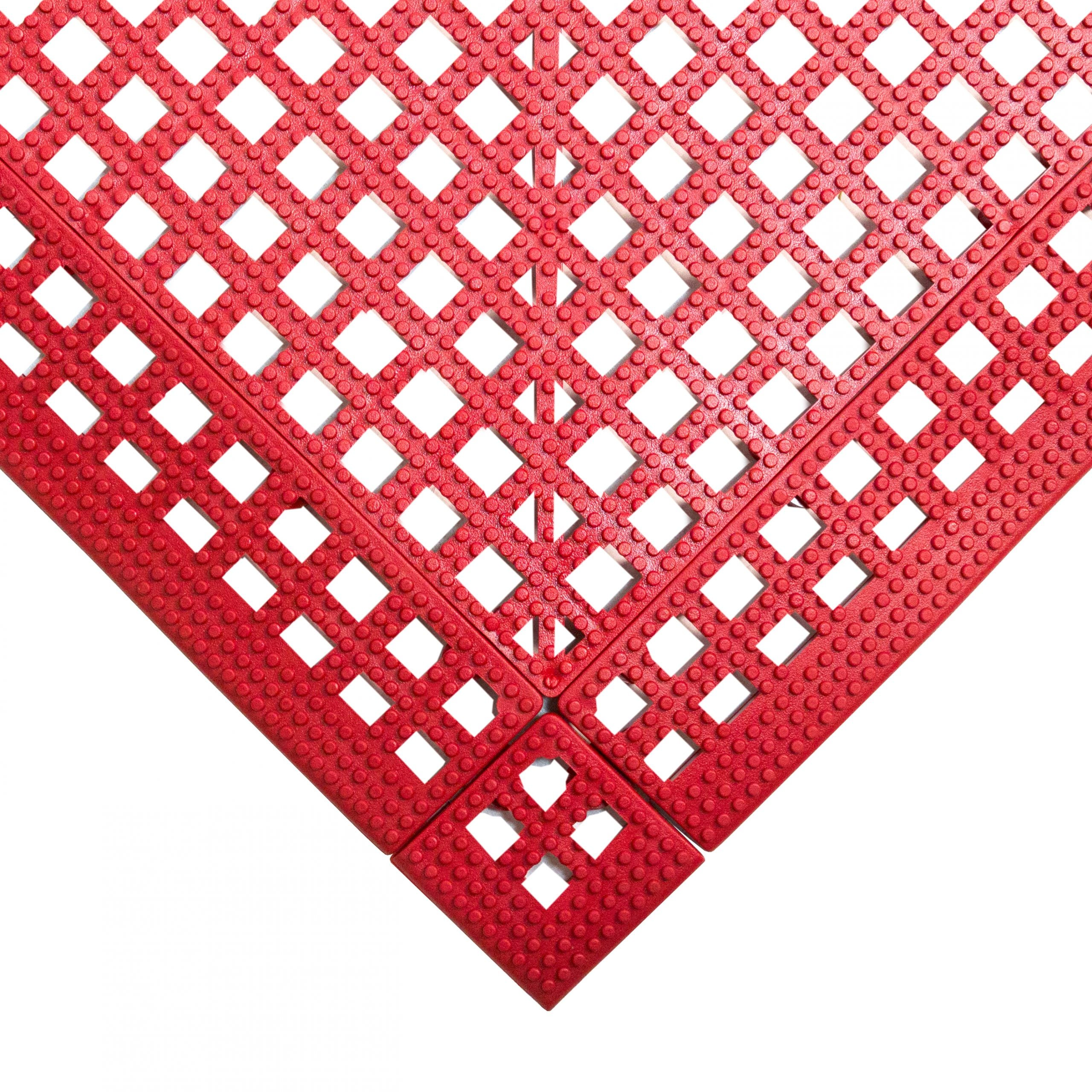 Flexi Deck Leisure Mat Style Red