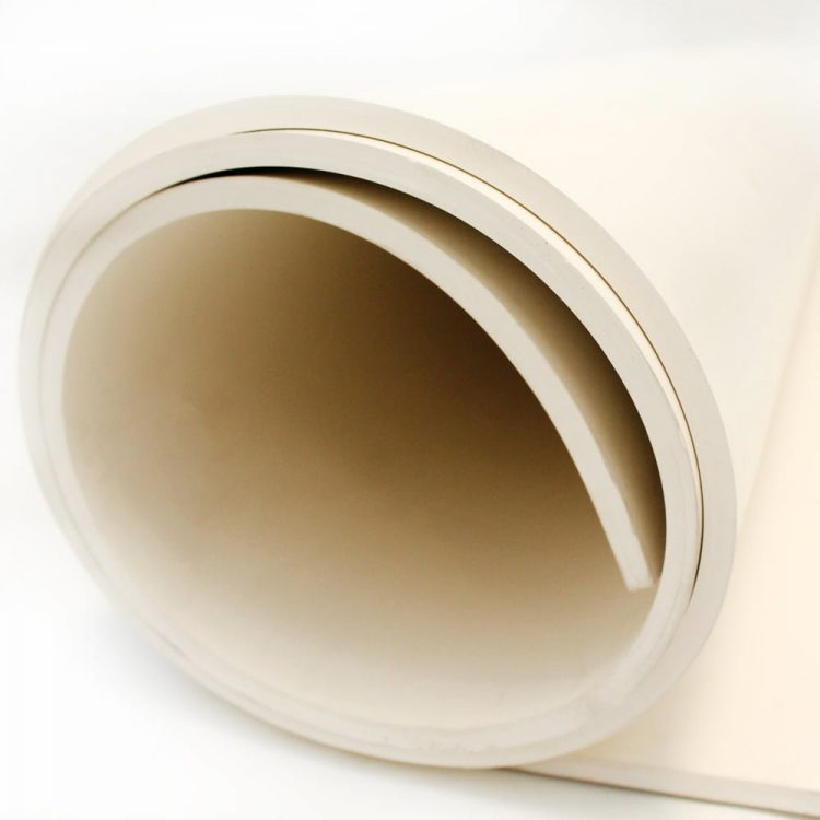 Food Quality White Rubber Sheeting