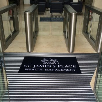Logo Matting Entrance Mat