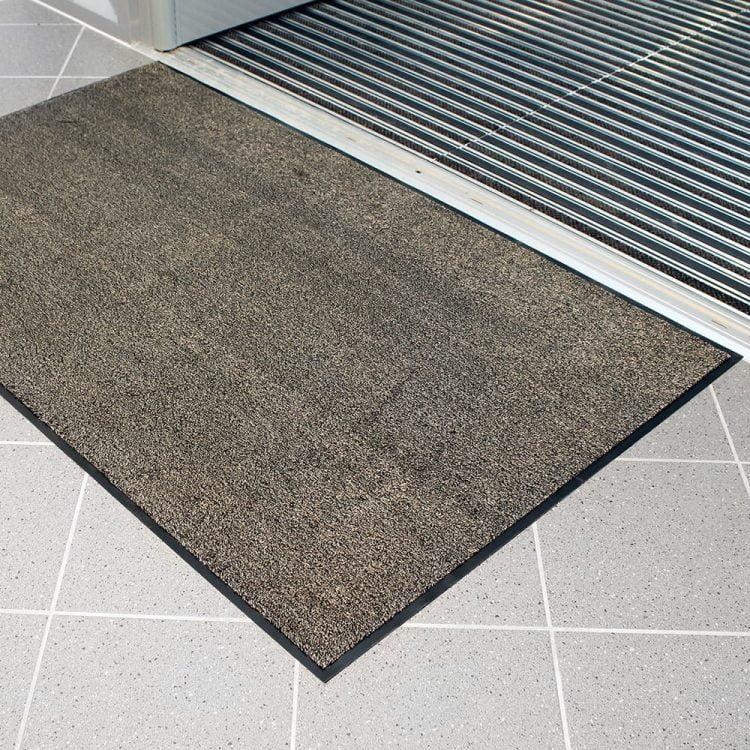 Microfibre Doormat Entrance Mat Beige