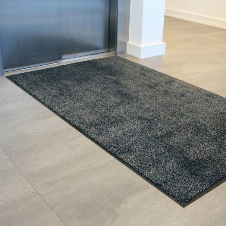 Microfibre Doormat Entrance Mat Black