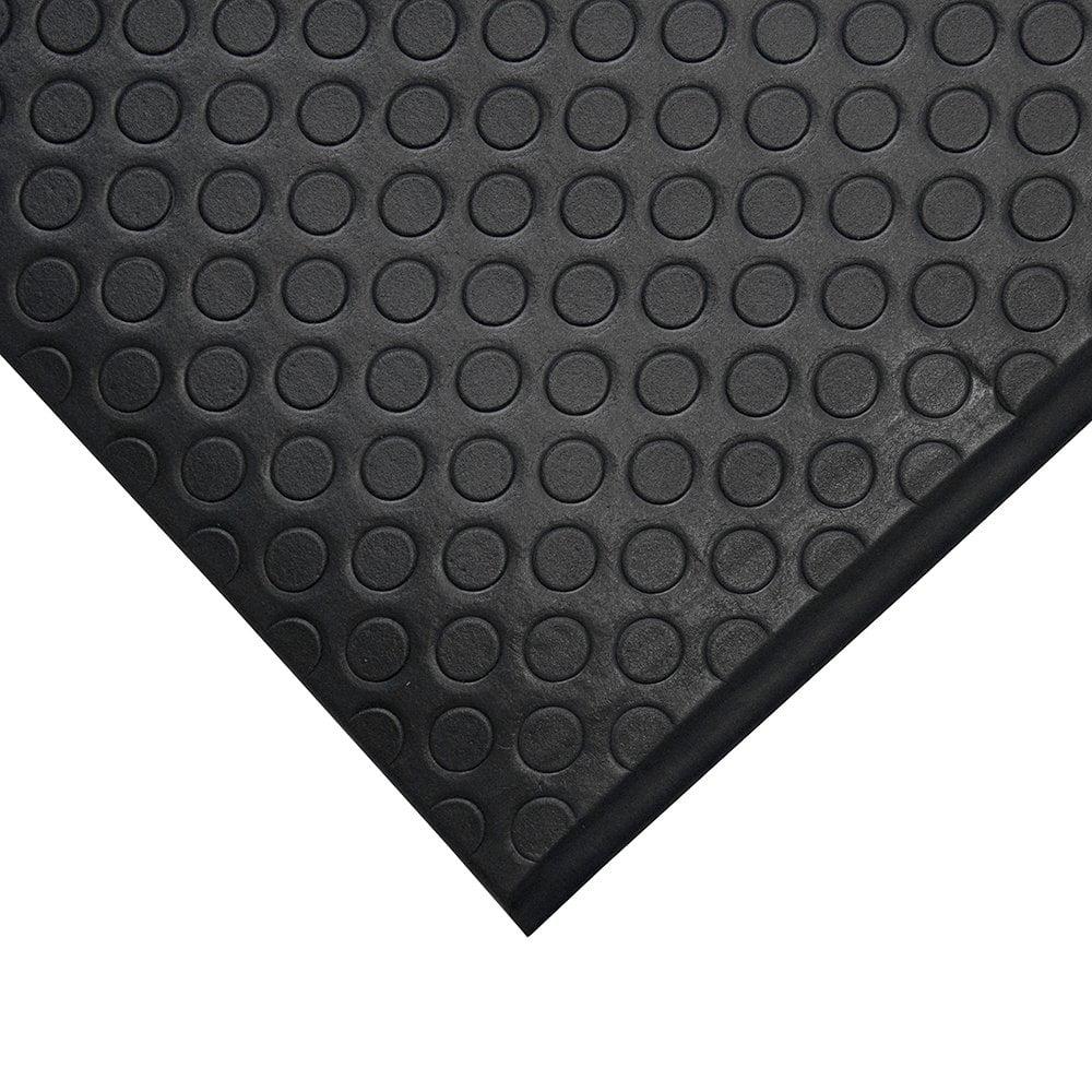 Orthomat Dot Workplace Matting Black
