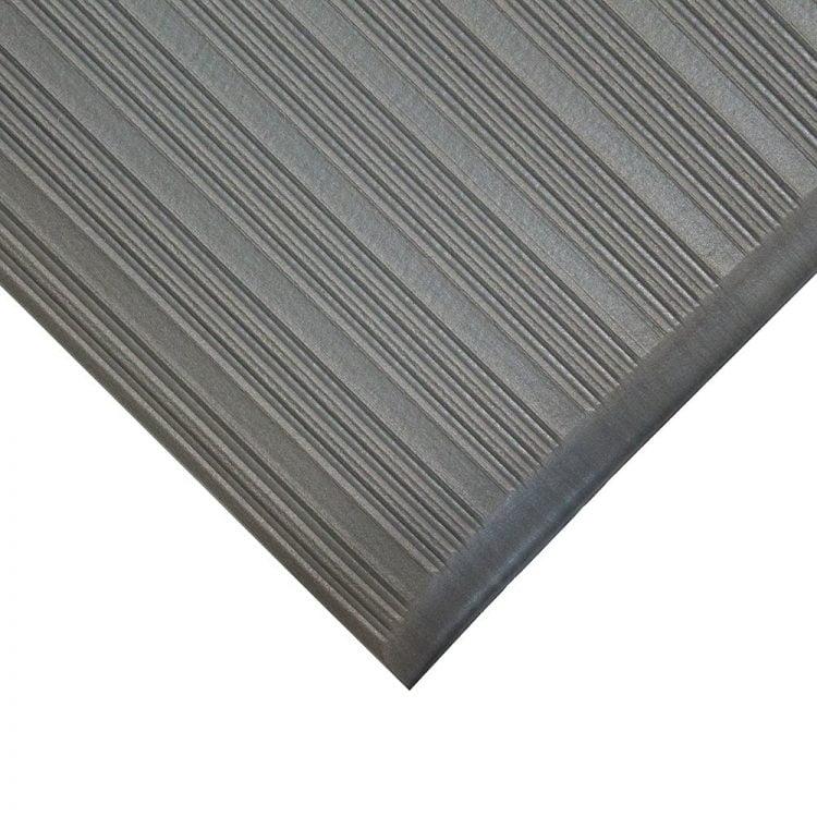 Orthomat Ribbed Workplace Matting Style Grey