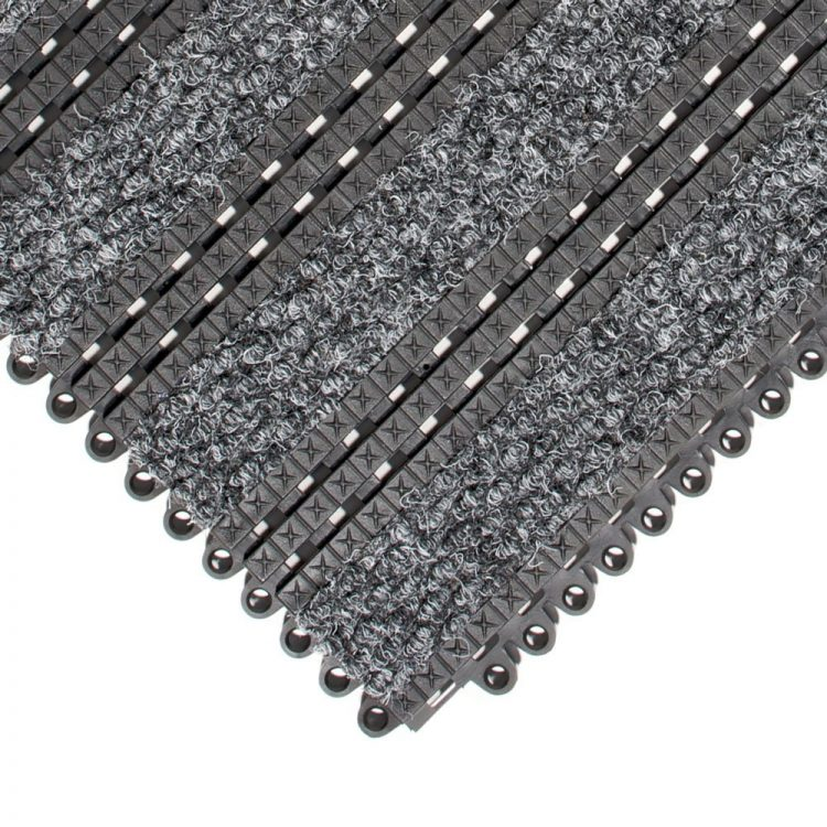 Premier Plus Entrance Matting Style Needlepunch Grey