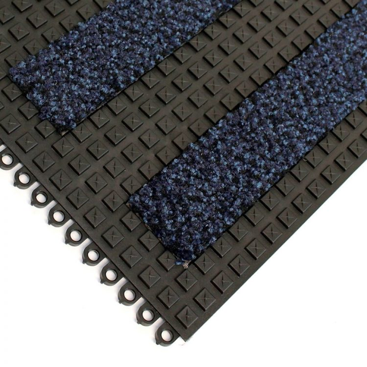 Premier Surface Entrance Matting Style Alba Blue