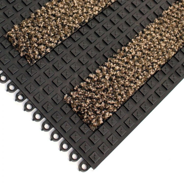 Premier Surface Entrance Matting Style Alba Brown