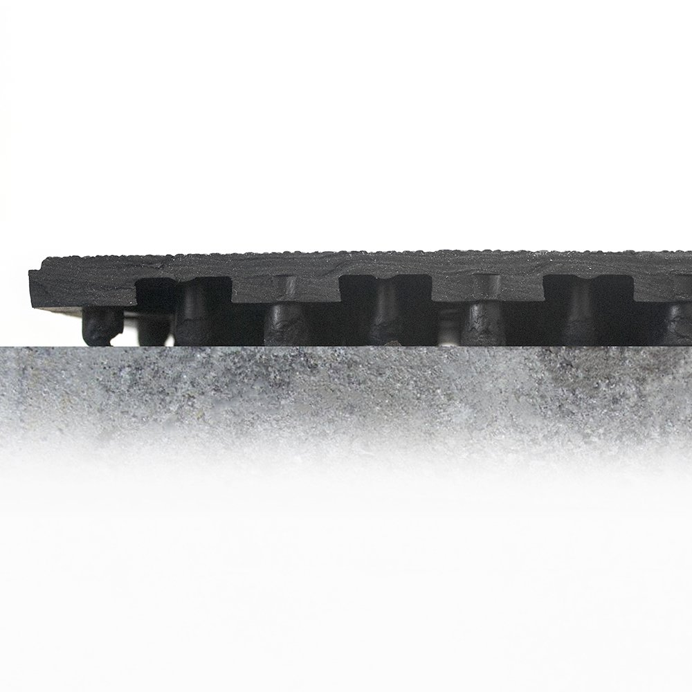 Solid Fatigue Step Workplace Matting Profile