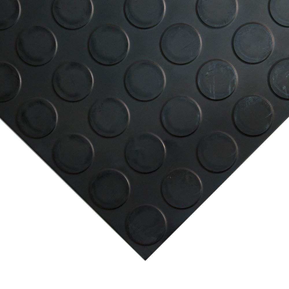 Studded Tile Floor Coverings