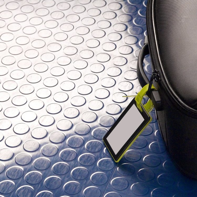 Studded Tile Floor Coverings