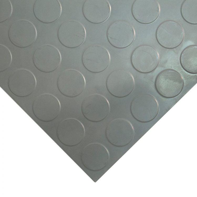 Studded Tile Floor Coverings Style Light Grey