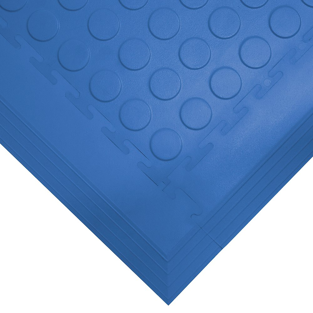 Tough Lock Studded Floor Coverings Style Blue
