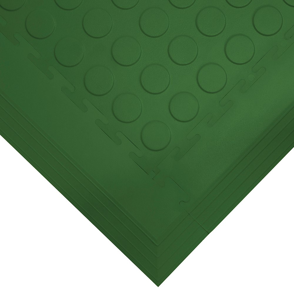 Tough Lock Studded Floor Coverings Style Green