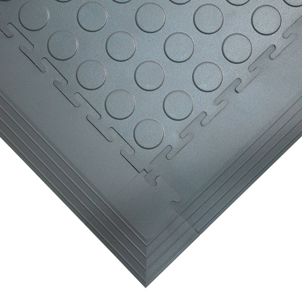 Tough Lock Studded Floor Coverings Style Grey