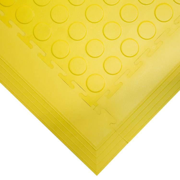 Tough Lock Studded Floor Coverings Style Yellow