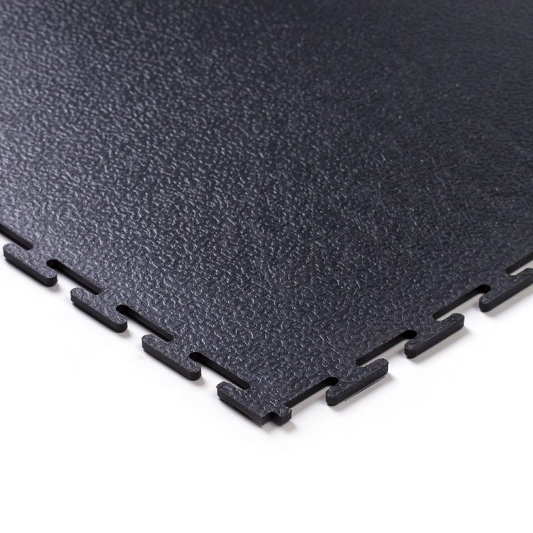 Tough Lock Textured Floor Coverings Style Black