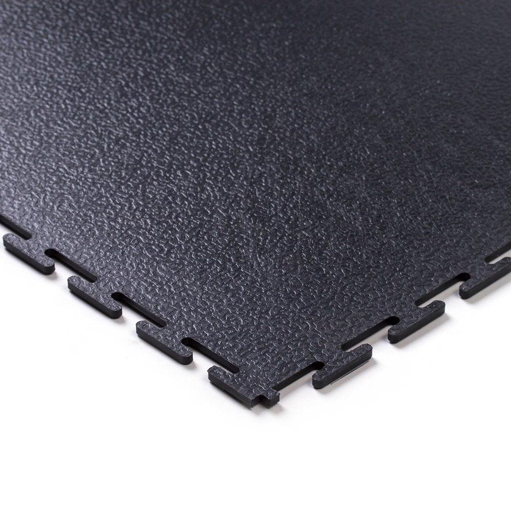 Tough Lock Textured Floor Coverings Style Black