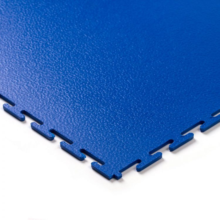 Tough Lock Textured Floor Coverings Style Blue