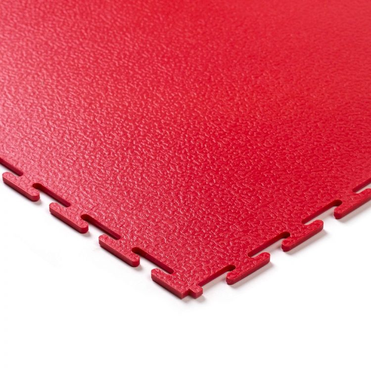 Tough Lock Textured Floor Coverings Style Red