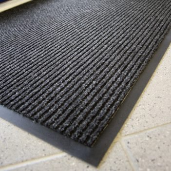 Toughrib Entrance Mat Charcoal