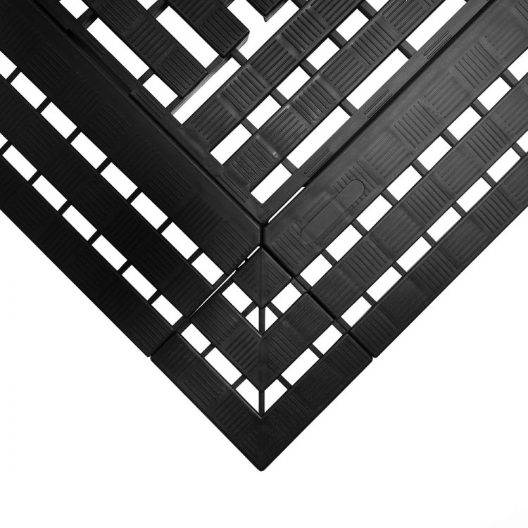 Work Deck Workplace Matting Style Black