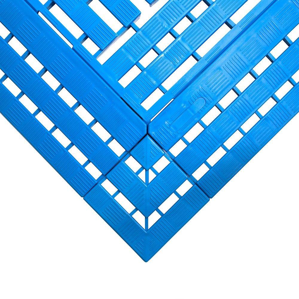 Work Deck Workplace Matting Style Blue