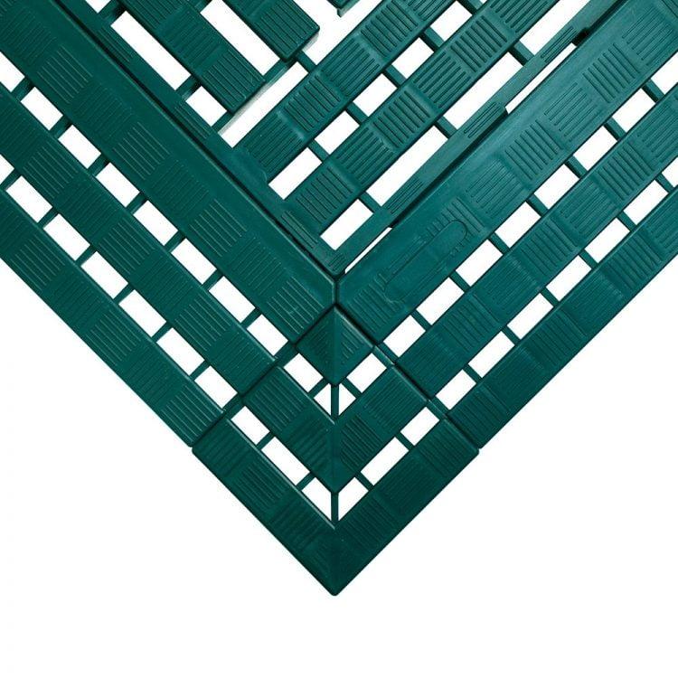 Work Deck Workplace Matting Style Green