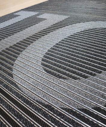 bank barrier matting