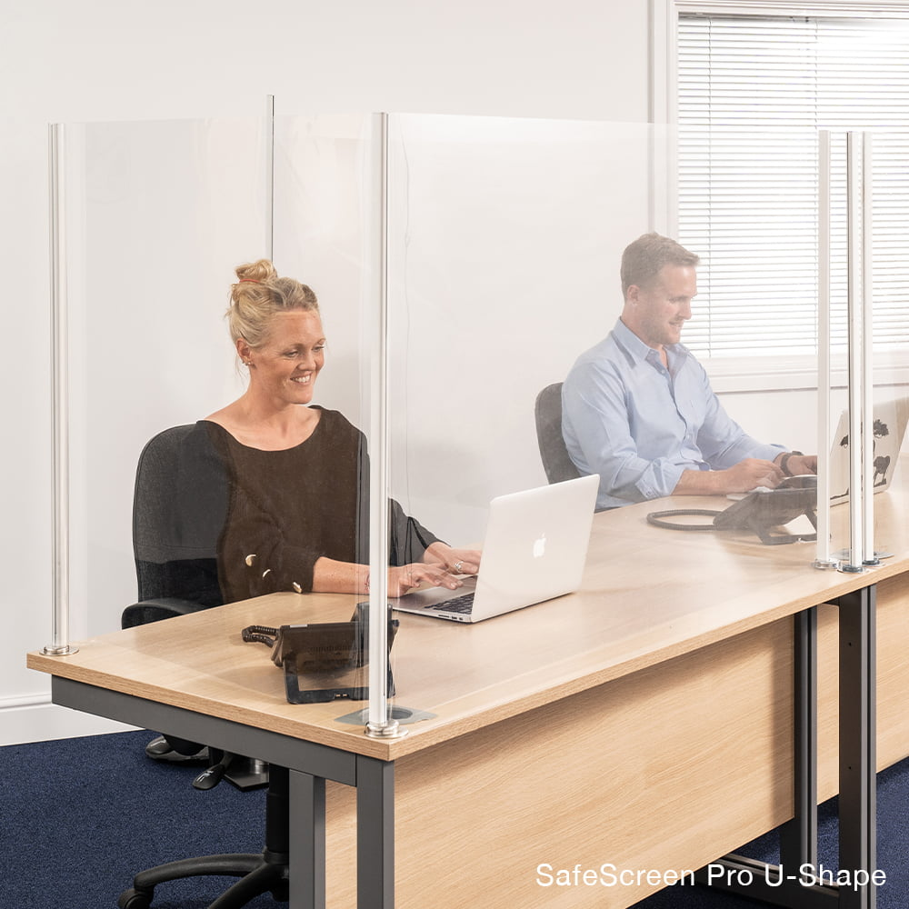screensafe pro covid sceen office