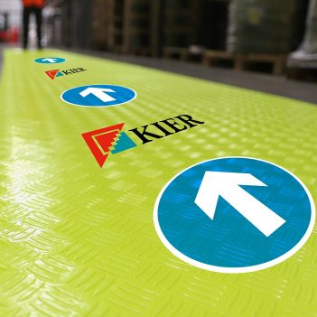 SitePath Branded High visibility Flooring